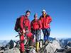 summit Mont Pelvoux 3943m.