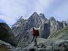 view on Mnt. Pelvoux, ascend to Ref. Glacier Blanc 2542m. (Ref. Cezanne1874m. - Ref. des Ecrins 3175m.)