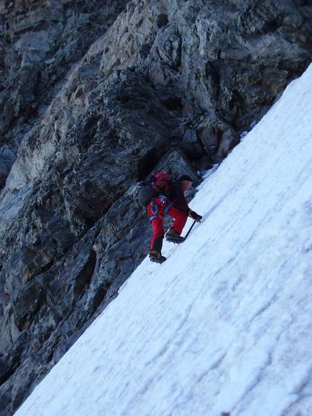ascent of Mont Pelvoux 3943m.
