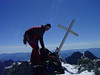 Summit Barre des Ecrins 4102m. (Ecrin)