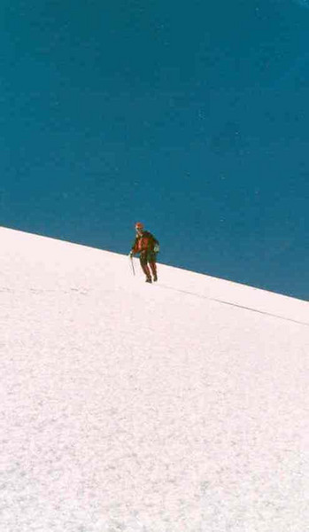 24 July, ascent Punte  Bianco 3793m. (Gran Paradiso, Italy 2002)
