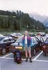 26 July  Pont Breuil, Valsavaranch, parking near camping (Gran Paradiso, Italy 2002)