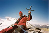 25 July 11.30 AM summit Gran Serra 3552m (Gran Paradiso, Italy 2002)