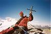 25 July 11.30 AM summit Gran Serra 3552m (Gran Paradiso, Italy 2002)