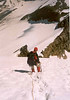 descent Ciarforon near Pnt. 3493m. (Gran Paradiso, Italy 2002)