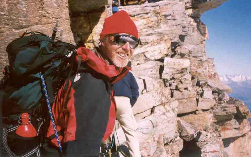 27 July, ascent Gran Paradiso near the summit (Gran Paradiso, Italy 2002)