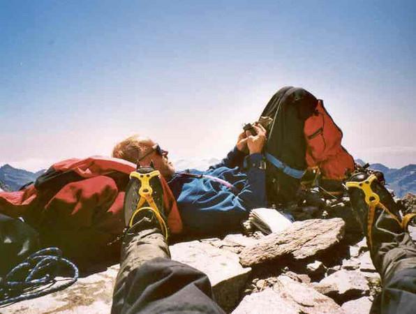 descent of the Gran Paradiso (Gran Paradiso, Italy 2002)
