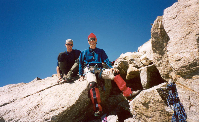 descent, Gran Serra 3552m (Gran Paradiso, Italy 2002)