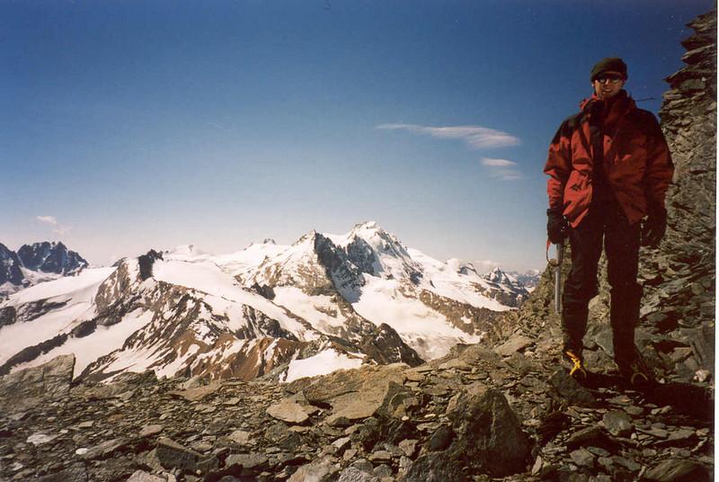 25 July ascent Gran Serra 3552m (Gran Paradiso, Italy 2002)