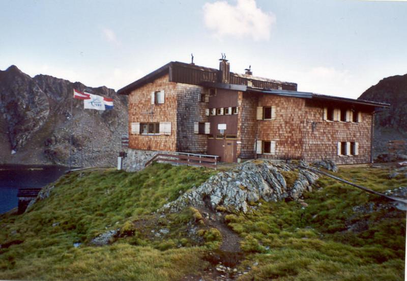 28 - 29 July, Wangenitzseehutte 2508m. NKBV (Hohe Tauern,  2000)