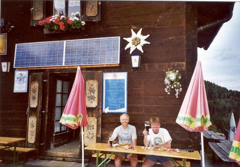 27 - 28 July, Winklerner alm OAV 1907m (Hohe Tauern,  2000)