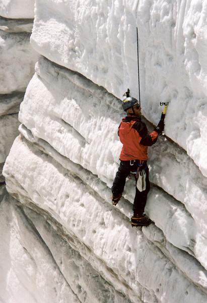 10 Aug. C II ice climbing, Oberes Pasterzenkees (Hohe Tauern, Snow and Ice II, 2000)