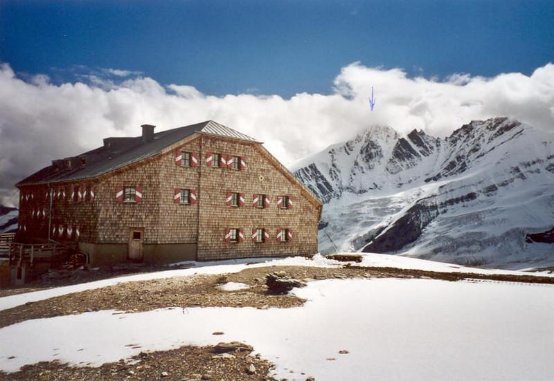 6 - 11 Aug, C II course in the Oberwalderhutte OAV 2973m. (Hohe Tauern, Snow and Ice II, 2000)