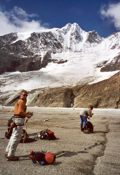 C II course in the Oberwalderhutte and Gross Glockner (Hohe Tauern, Snow and Ice II, 2000)