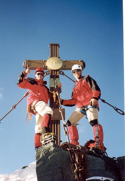 11 Aug. 18.40 PM summit Gross Glockner 3798m. (Gross Glockner 2000)