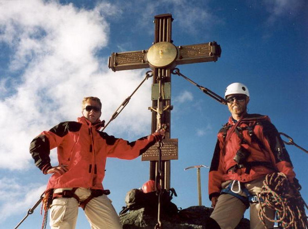 Mark & Marijn (Gross Glockner 2000)