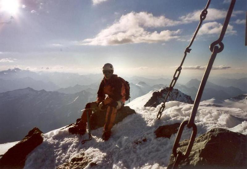 summit Gross Glockner 3798m. (Gross Glockner 2000)