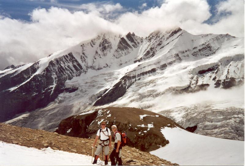 Mittlerer Burgstall 2923m. and Gross Glockner 3798m. (Gross Glockner 2000)