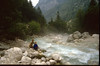 Jeroen and Marijn and the Krk river (Julian Alps, yougoslavia 1987)