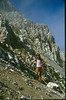 ascent of the Hochstuhl (VRH Stol) 2236m. (Julian Alps, yougoslavia 1987)