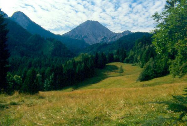 the Karawanken, Austria, the border mountains with Yougoslavia (Karawanken Austria 1987)