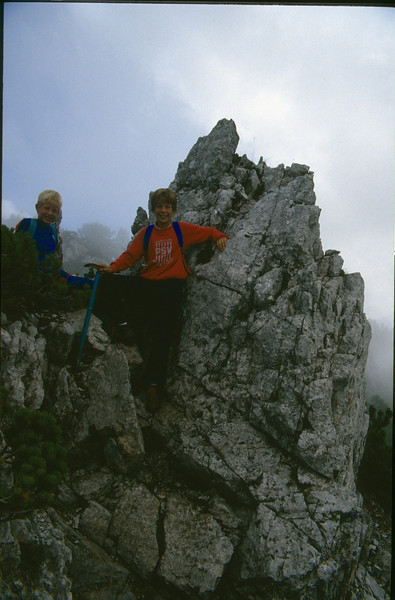 ascent Mallestiger Mittagskogel 1816m. (Karawanken Austria 1987)