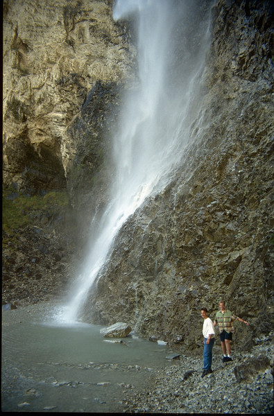 Ruisseau St. Benoit, falls (La Vanoise, France 1996)
