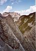2 Aug. Kleinen Gamswiesenspitze  (Lienzer Dolomites, C II course Rockclimbing 2000)