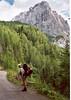 29 July Dolomietenhutte 1620m -- Karlsbader Hutte OAV 2260m. (Lienzer Dolomites, C II course Rockclimbing 2000)
