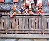 2 Aug.  (Lienzer Dolomites, C II course Rockclimbing 2000)