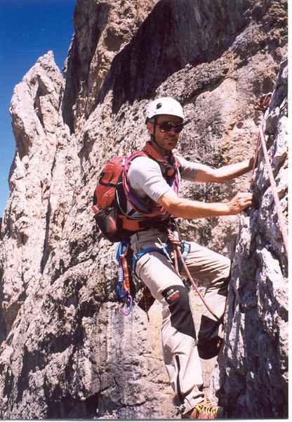 30 July - 5 Aug. Rock Climbing in the Lienzer Dolomites (Lienzer Dolomites, C II course Rockclimbing 2000)