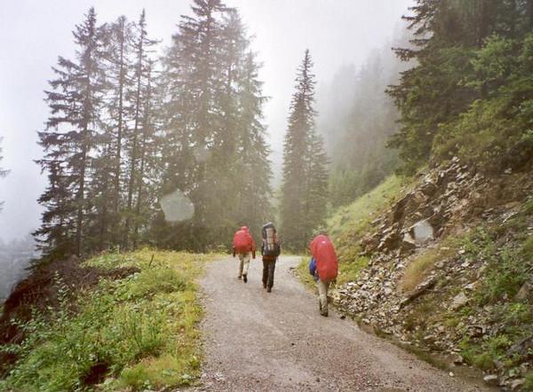 (Lienzer Dolomites, C II course Rockclimbing 2000)