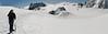 Rogier, Aiguille du Midi 3842m - Refuge Torino, Italy 3338m