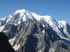 Route Refuge Goûter 3817m-Mount Blanc 4810m