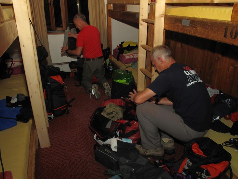 Sleeping-place, Gite la Montagna, Chamonix