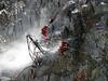 Drilling holes, track Tour Ronde 3792m- Refuge Torino vecchio, Italy 3338m