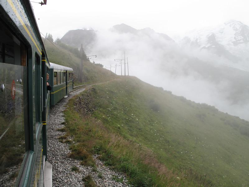 Les Houches - Bellevue - Nid d'Aigle 2365m - Refuge du Goûter C.A.F. 3817m