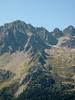Rock climbing site , L'Index 2385m (Aiguille Rouges)