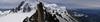 Arét de Cosmiques 3795m - Aiguille du Midi 3842m