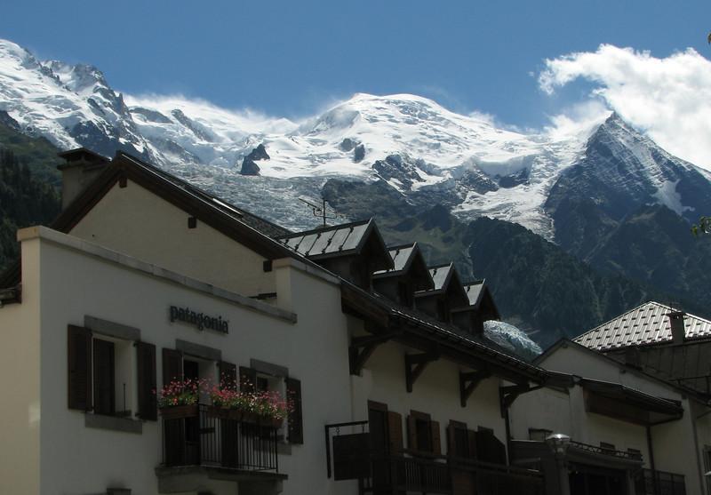View at Mont Blanc, Chamonix
