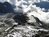 View ascend route Nid d'Aigle 2365m - Refuge du Goûter C.A.F. 3817m