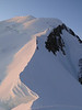 Busy Bosses arete. Ascending Mont Blanc 4810m