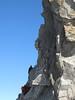 Climbing the Dent du Geant 4013m, Route: Refuge Torino, Italy 3338m - Arête de la Rochefort 3928m ( Rochefort ridge)