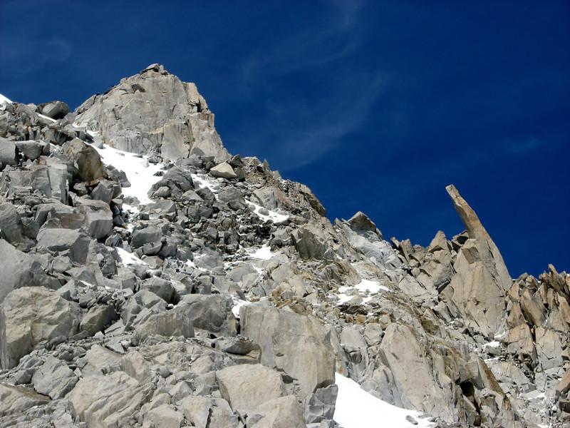Descend Tour Ronde 3792m- Refuge Torino vecchio, Italy 3338m