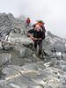 Ascending Refuge du Goûter , route: Nid d'Aigle 2365m - Refuge du Goûter C.A.F. 3817m