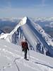 Aiguille du Bionnassay 4052m.(Tour 2005) Route: Descending Mont Blanc 4810m