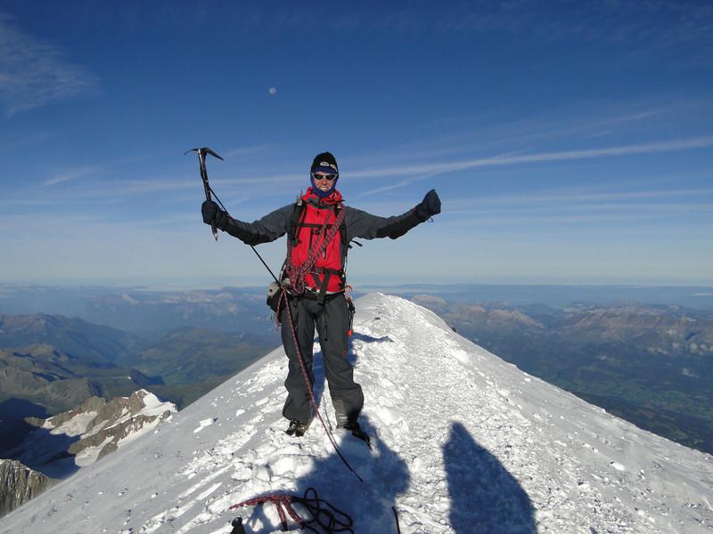 Summit Mont Blanc 4810m