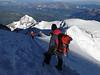 Descending Mont Blanc 4810m