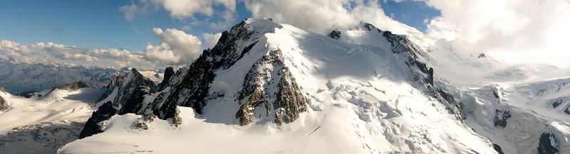 Mont Blanc massif 4810m