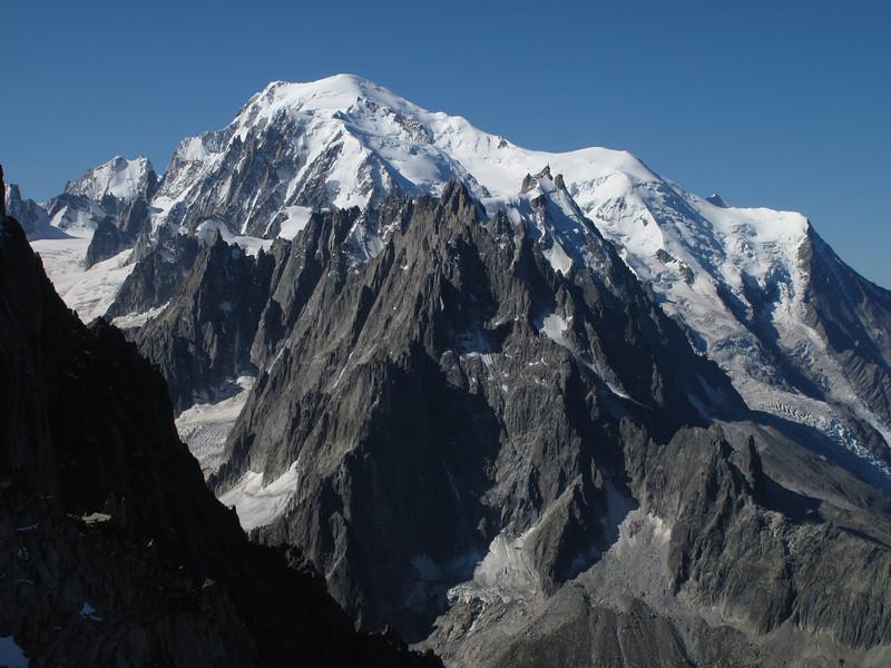 Route Mount Blanc tour 4810m
